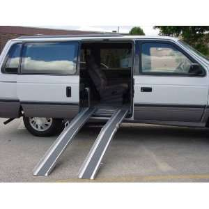 30 Long Portable Track Loading Ramps, 6.75 Wide (wheelchairs