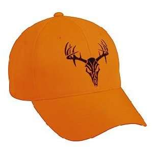 Outdoor Cap Deer Skull Blaze Orange:  Sports & Outdoors