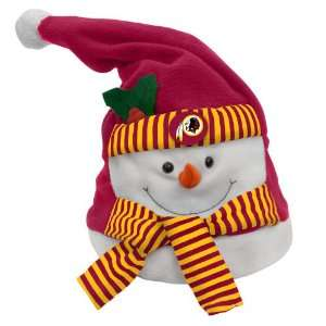 NFL Washington Redskins Animated Musical Christmas Snowman Hat