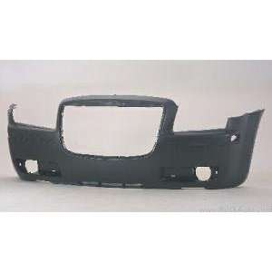 CR04027BC TY5 Chrysler 300 Primed Black Replacement Front Bumper Cover