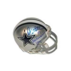 Riddell Mini Football Helmet Inscribed with Americas Teams