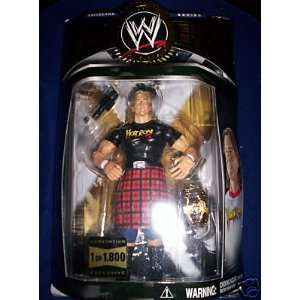 Rowdy Roddy Piper Black Shirt Hot Rod Classic Superstars Figure