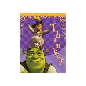 Shrek Thank You Notes Toys & Games