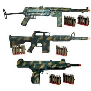 Toy Gun Stealth Patrol 3 Soft Dart Rifle Set