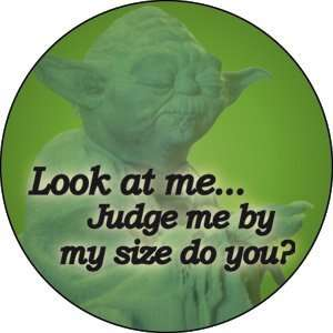 Star Wars Yoda Look At Me Button B SW 0012 Toys & Games