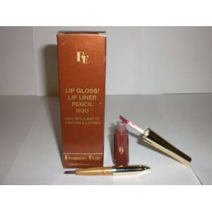 FAIR LIP BROWN GLOSS/LIP PENCIL DUO DK. BROWN 8831 NEW IN BOX Beauty