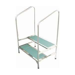 MRI Compatible Double Step Stool Home & Kitchen