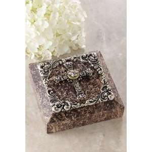 Soapstone Box with Cross & Swarovski® Crystals: Everything Else