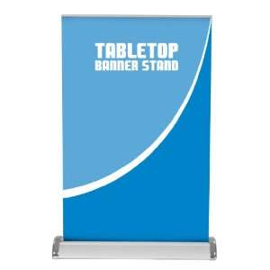 retractable tabletop banner stand Standard Vinyl Graphics
