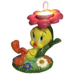 Looney Tunes Tweety Tealight Holder: Home Improvement