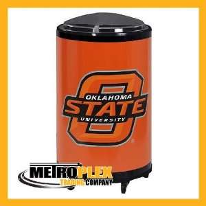Oklahoma State Patio Cooler / Ice Barrel Sports & Outdoors