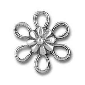30pcs Tibetan Silver Flower Connector Links 12mm ~Jewelry