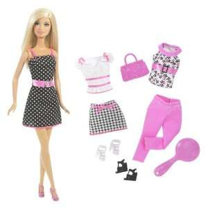 Barbie Doll & Pink Fashion Set Toys & Games