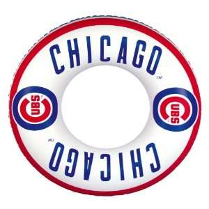 Chicago Cubs Inner Tube Pool Float  Sports & Outdoors