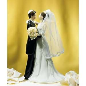 Wedding Cake Topper   Jewish Bride Groom (1 Topper) Arts