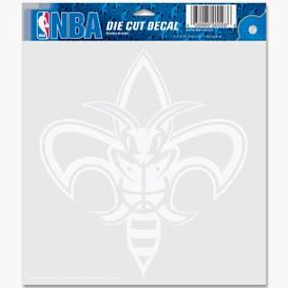 NBA New Orleans Hornets 8 X 8 Die Cut Decal: Sports & Outdoors