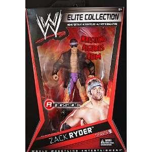 ZACK RYDER   ELITE 9 WWE TOY WRESTLING ACTION FIGURE Toys & Games