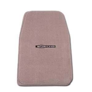 Front Two Piece Floormat with GM Z06 CORVETTE EMBLEM Logo Automotive