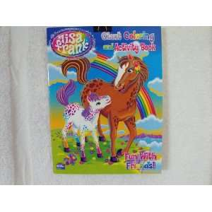 Lisa Frank coloring & Activity Book ~ 96 Pages (Horse & Colt Cover