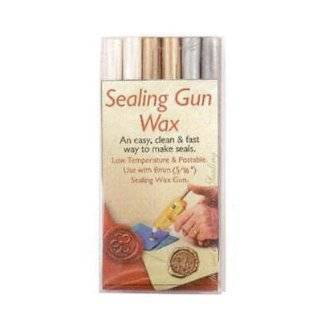 Manuscript Pen Sealing Gun Wax Stickers, Silver, 6 Pack