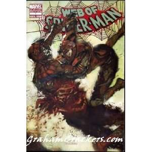 WEB OF SPIDER MAN 1 ZOMBIE VARIANT COVER MARVEL COMIC BOOK