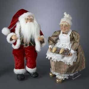 18 Jacqueline Kents Faces of Christmas Santa and Mrs
