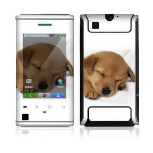 Animal Sleeping Puppy Protector Skin Decal Sticker for