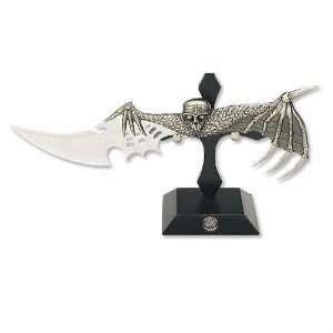 The Vampire Bat Display Knife with Stand:  Sports