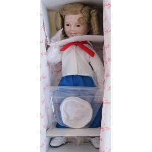 SHIRLEY TEMPLE Captain January PORCELAIN DOLL 14 Dolls of Silver