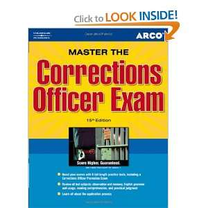 as a Correction Officer (Petersons Master the Correction Officer
