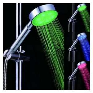 Color Changing LED Hand Shower   Chrome Finish
