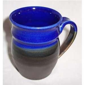 Cobalt Blue and Smokey Bronze Mug  Kitchen & Dining