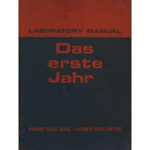 Laboratory Manual for Das Erste Jahr Margaret Keidel