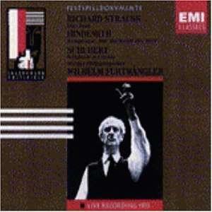 R. Strauss Don Juan / P. Hindemith Die Harmonie Der Welt