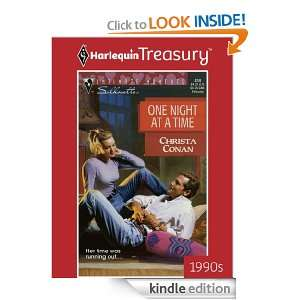 One Night At A Time (Harlequin Silhouette Intimate Moments): Christa