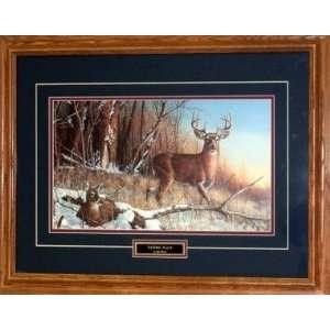 Jim Hansel Framed Deer print RESTING PLACE