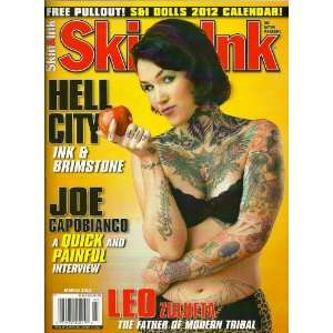 Skin & Ink Magazine March 2012   Hell City   The Tattoo