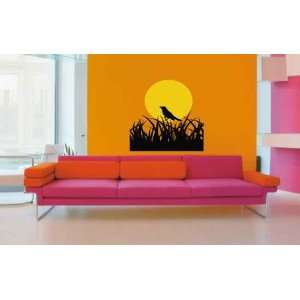 Grass Vinyl Wall Decal Sticker Midnight Symphony By LKS Trading Post