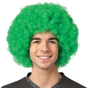 By Rasta Imposta Crayola   Green Afro Adult Wig / Green   One Size