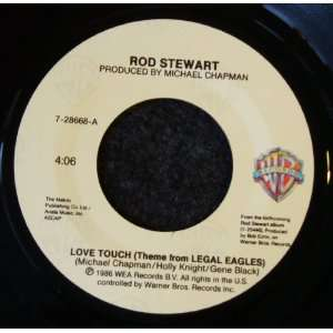 Love Touch / Heart Is On the Line Rod Stewart Music