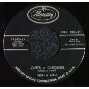 Loves A Carousel / Pretty Baby Gino & Gina Music
