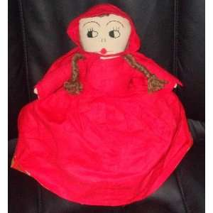 Little Red Riding Hood Grandma and Wolf Reversible 13 Rag Doll