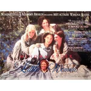 LITTLE WOMEN original movie poster