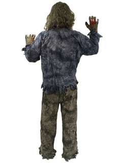 Teen Halloween Complete Zombie Costume  Jokers Masquerade