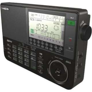 Sangean ATS 909X Shortwave Receiver Portable Radio   Black in