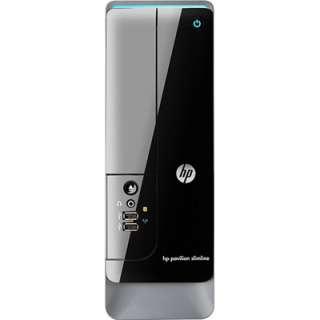HP Pavilion Slimline S5 1110 750GB Hard Drive Desktop PC   Black