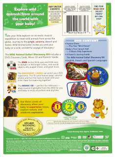 Disney Baby Einstein  Wild Animal Safari Discovery Kit DVD