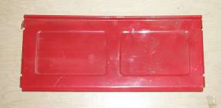 VINTAGE RED PEDAL CAR TAILGATE PART 697