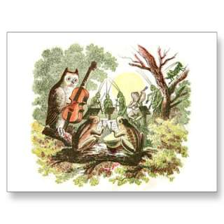 Vintage Animal Band Post Cards from Zazzle