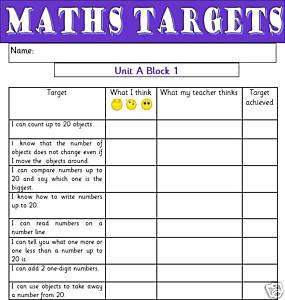 Primary Teaching Resources Framework Maths Targets KS1